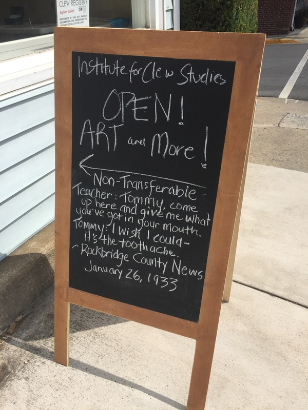 Joke of the Day, Open! Art and More!